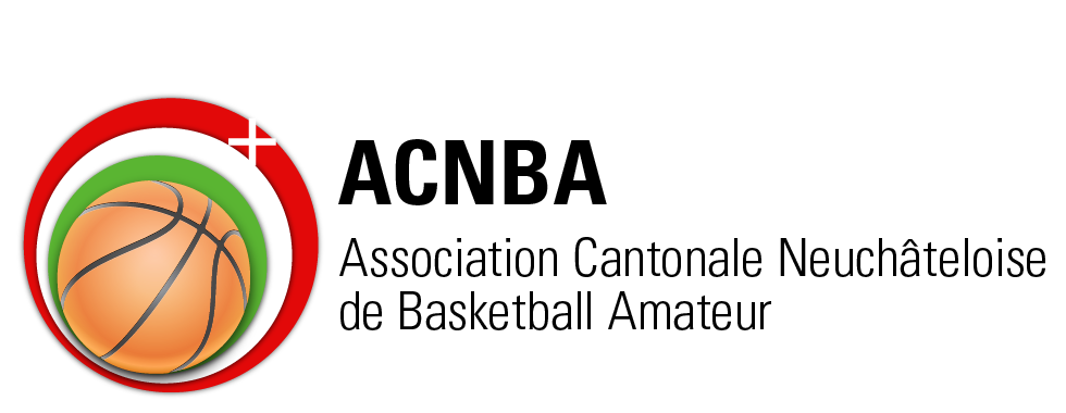 ACNBA – Association Neuchâteloise de Basketball Amateur Retina Logo